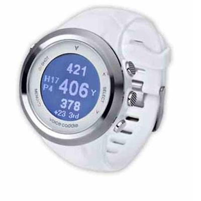 Voice Caddie T2 Golf GPS Reloj & Tracker (Blanco)