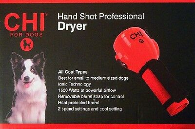 Chi Hand Shot Professional Dryer For Dogs All Coat Types