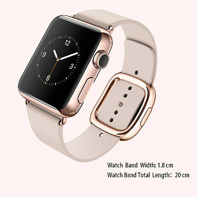 HOCO Original Genuine Leather Watch Strap Buckle Band+Case For Apple Watch