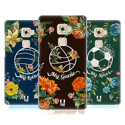 Head Case Designs Sporty Florals Hard Back Case For Huawei Mate S