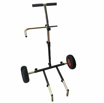 MDI Pump-up Matchman Pneumatic Collapsable Trolley for Fishing Seatboxes