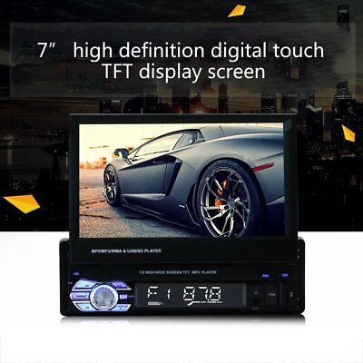 7in Touch Screen HD Car DVD-player Stereo Radio Audio GPS Memory Navigator XP