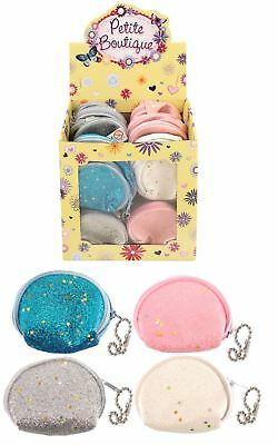 Girls Glitter Coin Purse Princess Theme Party Goody Loot Bag Pinnata Filler Toy