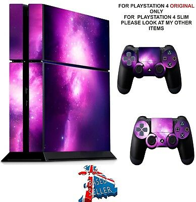 NEBULA GALAXY ps4 Skins Decals Stickers Playstation 4 Console & Controller