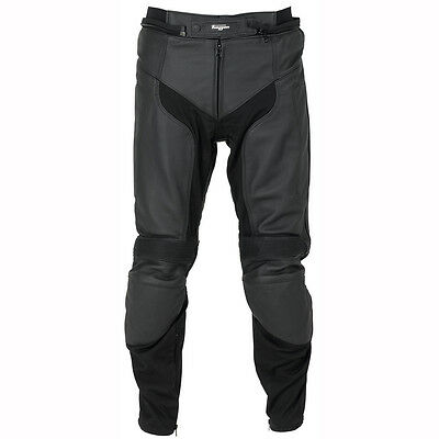 Furygan Highway Soft Touring Leather Mens Motorcycle Motorbike Trousers Pants