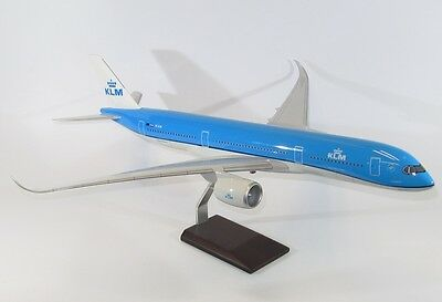 KLM Royal Dutch Airlines Airbus A350-900 Desk Display 1/100 AM Model Airplane