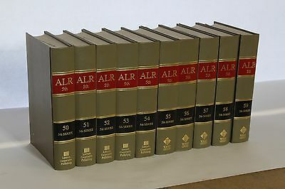 ALR 5th Series - American Law Reports - Hardcover - Nice Condition - Large Lot
