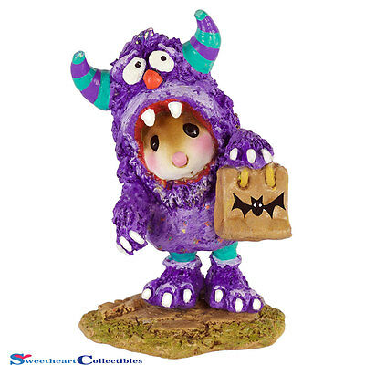 Wee Forest Folk 2016 Halloween Scaredy Monster M-589