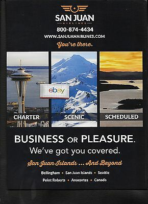 San Juan Airlines The Northwest And Canada Bellingham Seattle Anacortes Ad