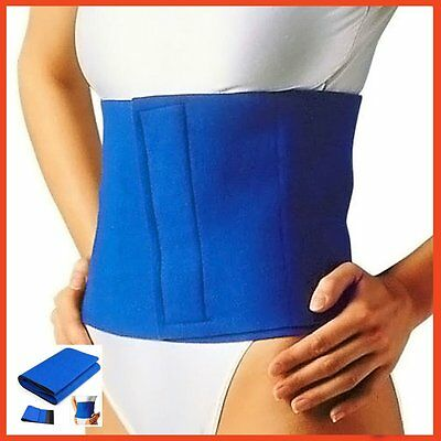 WAIST SUPPORT Fat Cellulite Belly Burner Slimming Belt Body Exercise Weight Loss