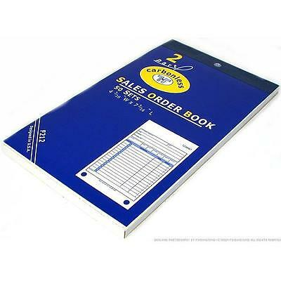 Sales Order Receipt Forms Carbonless Record Sheet Book!