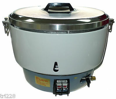 NEW Huei LP Gas Commercial  Rice Cooker (50 Cups) Propane   100 BOWLS OF RICE!