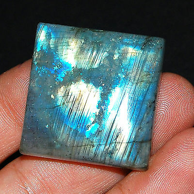 108 Cts Untreated Natural Rainbow Labradorite Pendant Size Marvelous Gemstone