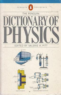 The Penguin Dictionary of Physics - Penguin Books - Acceptable - Paperback