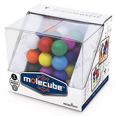 Meffert's Brainteaser Molecube Twist Puzzle Challenge Fun Desk Game Toy Gift