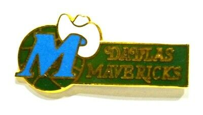 Pins Basket Ball Dallas Mavericks Metal Epais Emaille