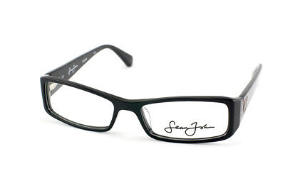 Authentic Sean John SJ2009 / 001 Unisex Designer Glasses Frames 135|16|52 Black