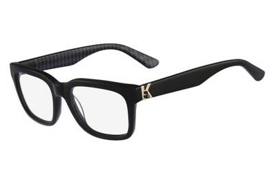 Authentic Karl Lagerfeld KL823  Unisex Designer Glasses Frames 140|18|51 - Black