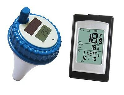 Remote Wireless Pool Hot Tub SPA Thermometer + Indoor Display Readout USA seller