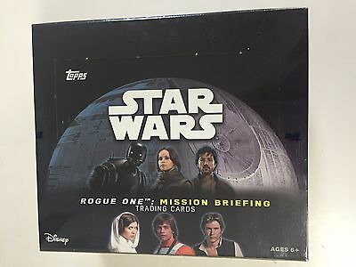 2016 Topps Star Wars Rogue One : Mission Briefing Retail Box