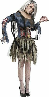 Zombie Guts Belt Adult Womens Costume Adult One Size Multicolor