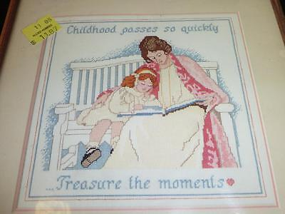 DIMENSIONS Counted Cross Stitch Kit 3600 TREASURE THE MOMENTS Childhood