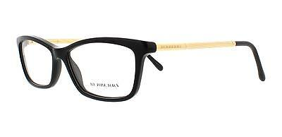Burberry BE 2190 3001 Black Womens Eyeglasses Size 54