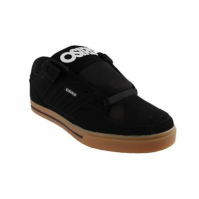 New Osiris Men's Protocol Skate Shoes Black/White/Gum Skateboarding Sneakers