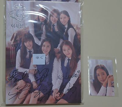 GFRIEND SNOWFLAKE Autographed Album CD all members Signed with SinB Photo Card