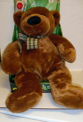 """Collectible Chantilly Lane 12"""" animated Bear Lil Stinker with remote Retired"""