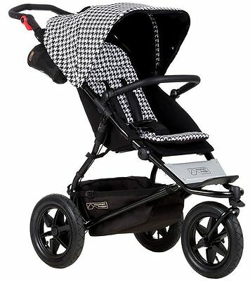 Mountain Buggy Urban Jungle Pepita Luxury Collection 3 Wheel Stroller NEW