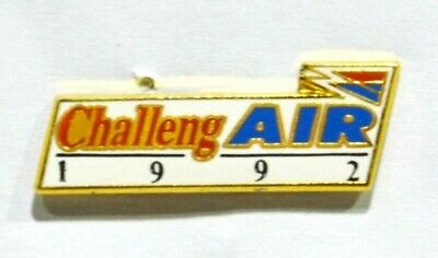 Pins Avion Aviation Air France Challeng'air 1992