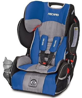 Recaro Performance Sport Combination Harness To Booster Child Car Seat Sapphire