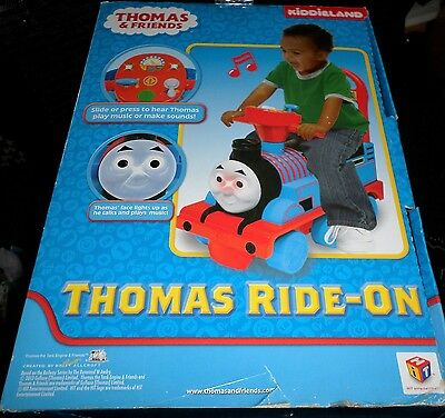 Thomas the Tank Engine Activity Ride On MIB Lights Sounds Music Toddler Toy
