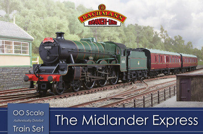 Bachmann 30-285 The Midlander Express Train Set OO Gauge