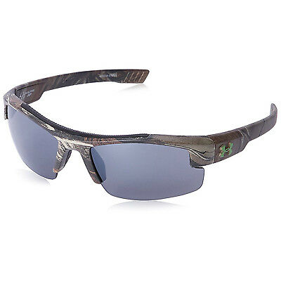 Under Armour UA Nitro Youth Large Sunglasses Realtree AP Frame Gray Mirror Lens