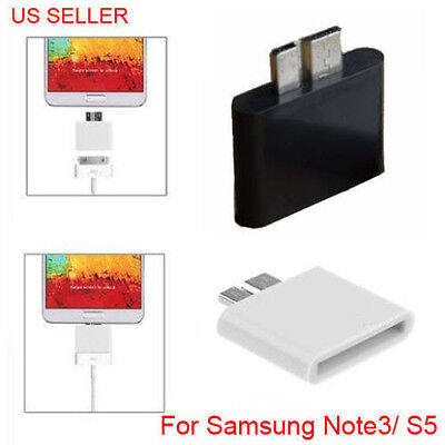 Apple 30pin Female to Micro USB3.0 Male Adapter for Samsung Galaxy Note 3 S5 new