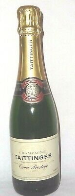 CHAMPAGNE TAITTINGER PRESTIGE 1/2 BOUTEILLE 37,5 cl FACTICE DUMMY BOTTLE SCHAU