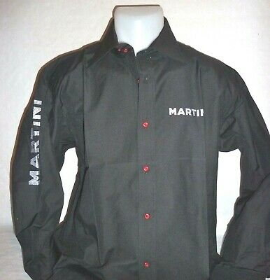 """MARTINI Chemise homme noire """"staff"""" taille L neuf"""