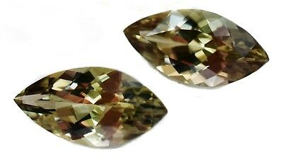 1.7+ Ct Zultanite Color-Change Loose Gem 14x7mm Marquise Cut Cert Auth D007