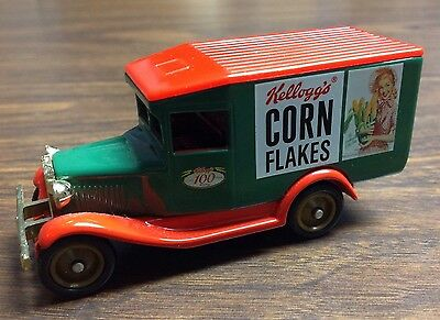 Kellogg's Corn Flakes Promotional Truck Toy Lledo Excellent Condition