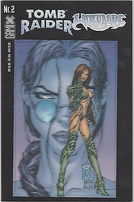 Comic Tomb Raider & Witchblade Holo 3D Cover Nr. 2