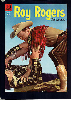 1954 Dell Roy Rogers 82 FN To VF