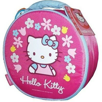 Hello Kitty Thermos  Soft Insulated Lunch Bag  with Water Bottle