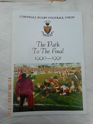 Cornwall Rugby Football Union: The Path To The Final 1990-1991