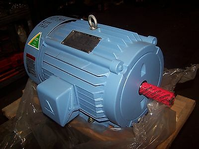 New Triton 10 Hp Ac Electric Motor 215T Frame 230/460 Vac 1760 Rpm Tefc 3 Phase