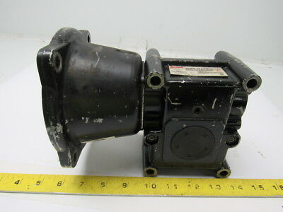 Browning 15C56LR10 Speed Reducer Worm Gear Box 10:1 Ratio 175 RPM 56C Left Hand