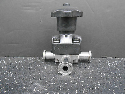 Crane saunders sanitary diaphragm valve 4 59990 16 1 15 od tube crane saunders 0500sfv4 diaphragm valve 05 sanitary tri clamp fitting ccuart Image collections