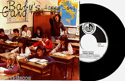 "7"" - Baby's Gang - Happy Song (ITALO) ORIG. 1984 SPANISH PRESSING - NEW * LISTEN"