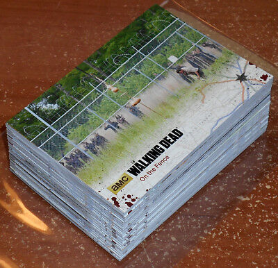 Walking Dead Season 4 Part 2 ~ BLACK PARALLEL Base Card Lot (69 total, no dupes)